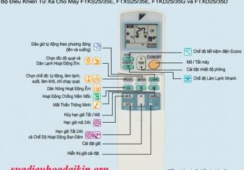 Tổng hợp bảng mã lỗi điều hòa daikin